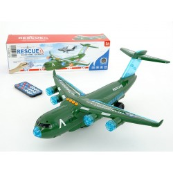 Airplane with remote control
