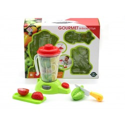 Toy blender with accessories