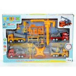 Set of road machines with...